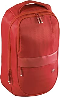 Hama Munich mochila Nylon Rojo - Mochila (Nylon, Rojo, 39,6 cm (15.6