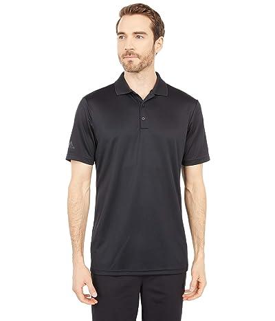 adidas Golf Performance Primegreen Polo Shirt (Black) Men