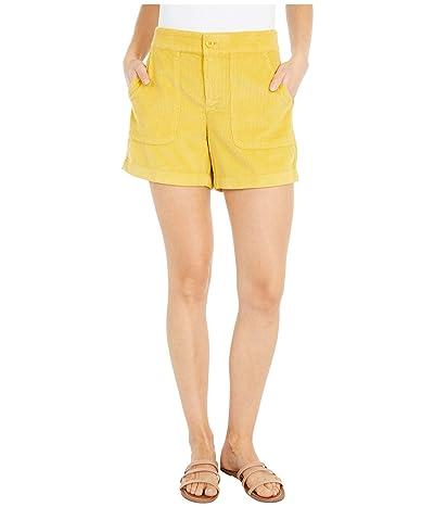 J.Crew Patch Pocket Corduroy Shorts (Naples Yellow) Women