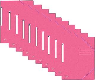 Oxford 400116328 Lot de 10 classeurs à coin Top File+ A4 rosa