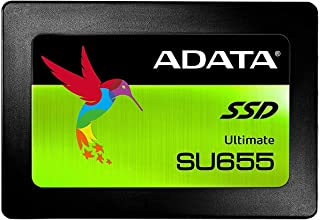 ADATA SU655 480GB 3D NAND 2.5 inch SATA III High Speed Read up to 520MB/s Internal SSD (ASU655SS-480GT-C)