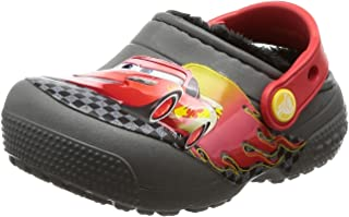 Crocs Crocsfunlab Lined Cars Ankle-High Clogs
