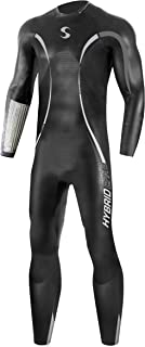 Synergy Triathlon Wetsuit - Men's Hybrid Fullsleeve Smoothskin Neoprene for Open Water Swimming Ironman & USAT Approved