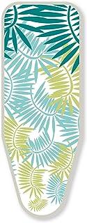 LaundrySpecialist® Basic Talla L/XL Funda de Tabla de Planchar, 100% algodón con Capa de Espuma de 3 mm. Es Apta para Todas Las Tablas de Planchar y con Todas Las planchas (de Vapor)