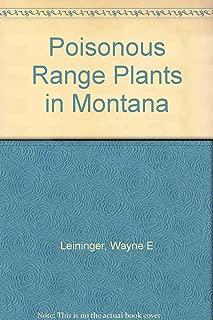 Poisonous Range Plants in Montana