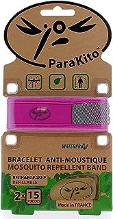 Bracelet Anti-Moustique Fuchsia Para'Kito