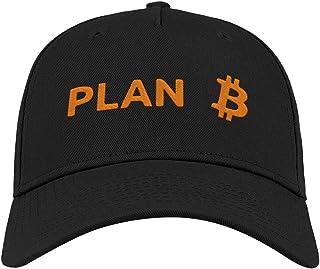 Plan B Bitcoin Cryptomoneda Divertida Minería Bordada Visera Curvada Unisex Transpirable Gorra Gorra Gorra Gorra Gorra Gor...