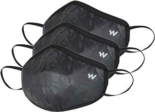 Wildcraft Unisex-Child Polyester SUPERMASK W95+ Reusable Outdoor Respirator 3P : SUBLIPRINT : Brown_CAMO : S (890333829792...