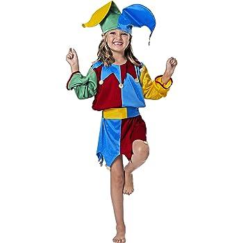 WIDMANN Sancto - Disfraz de bufón infantil, talla 5-7 años (2586 ...