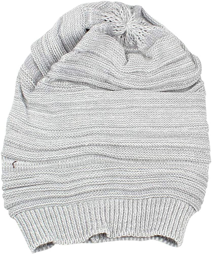LODDD Rapid rise Unisex Men Knit Outlet ☆ Free Shipping Baggy Beanie Winter Two-Tone War Beret Hat