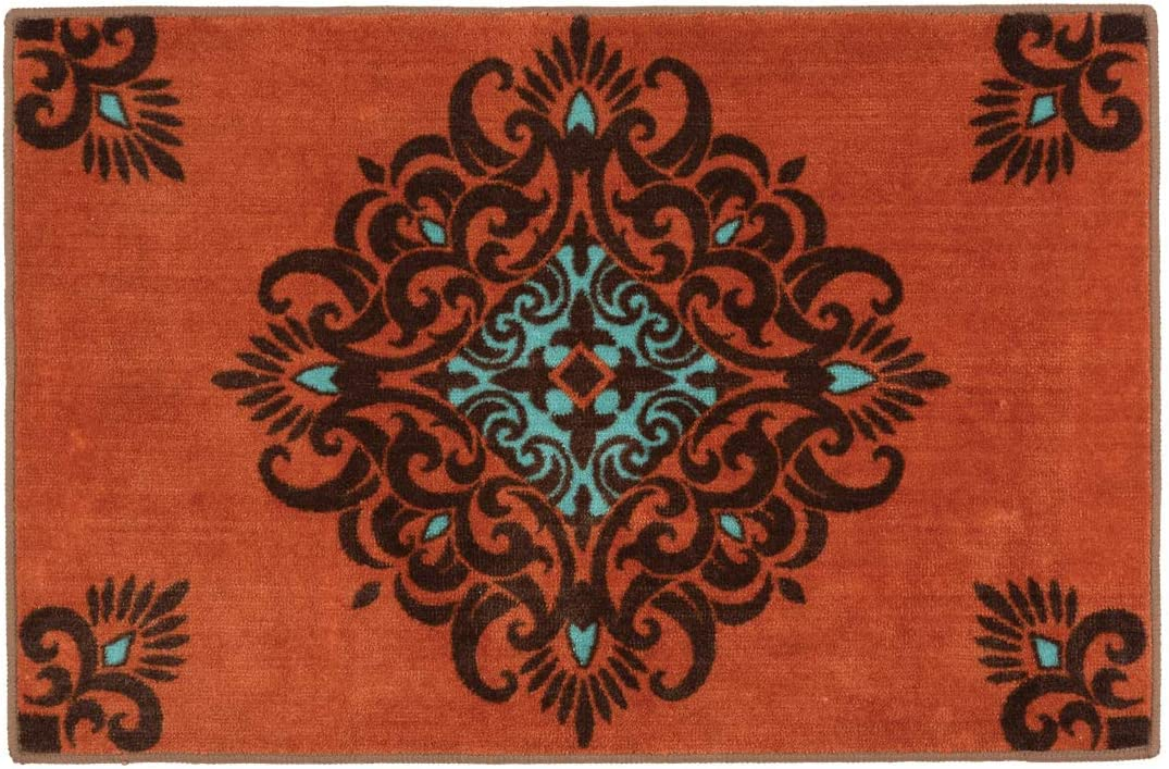 BLACK FOREST DECOR Canyon Kitchen Max 59% OFF Scroll Weekly update Bath Rug