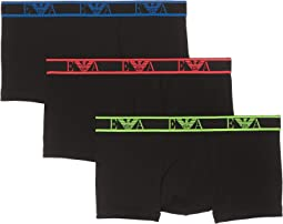 Monogram 3-Pack Trunks