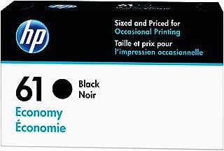 HP 61 | Ink Cartridge | Black | Economy Size | B3B07AN