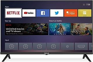 Caixun 32 Inch 720p Smart HD LED TV, Smart Flat Screen Television TV, Built-in HDMI,USB,Earphone,Optical,Ethernet Ports Su...