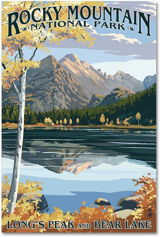 Trademark Fine Art Illustration by Lantern Press, 12x19 Canvas Wall Art