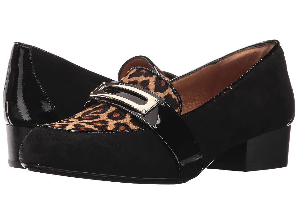 Sofft Brandis (Black/Leopard Tan) Women