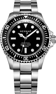 Neymar Men's Diver Watch 44mm Automatic Watch 1000m Diver Watch 500m Automatic Watch