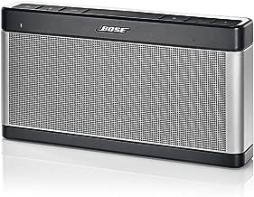 Bose SoundLink Bluetooth III - Altavoz inalámbrico (14 horas de autonomía, conexión Bluetooth), gris