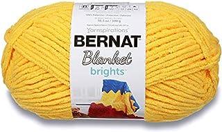 Bernat Blanket Brights Big Ball Yarn, 10.5 Ounce, Schoolbus Yellow, School Bus