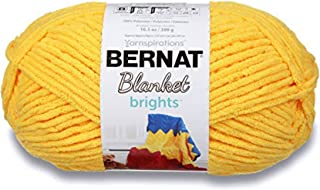 Bernat Blanket Bright Yarn, School Bus Yellow