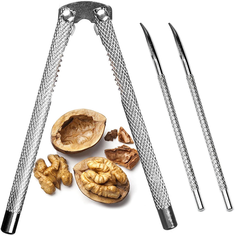 Nut Cracker Set, Nutcracker Tool, Lobster or Crab Cracker: Home & Kitchen