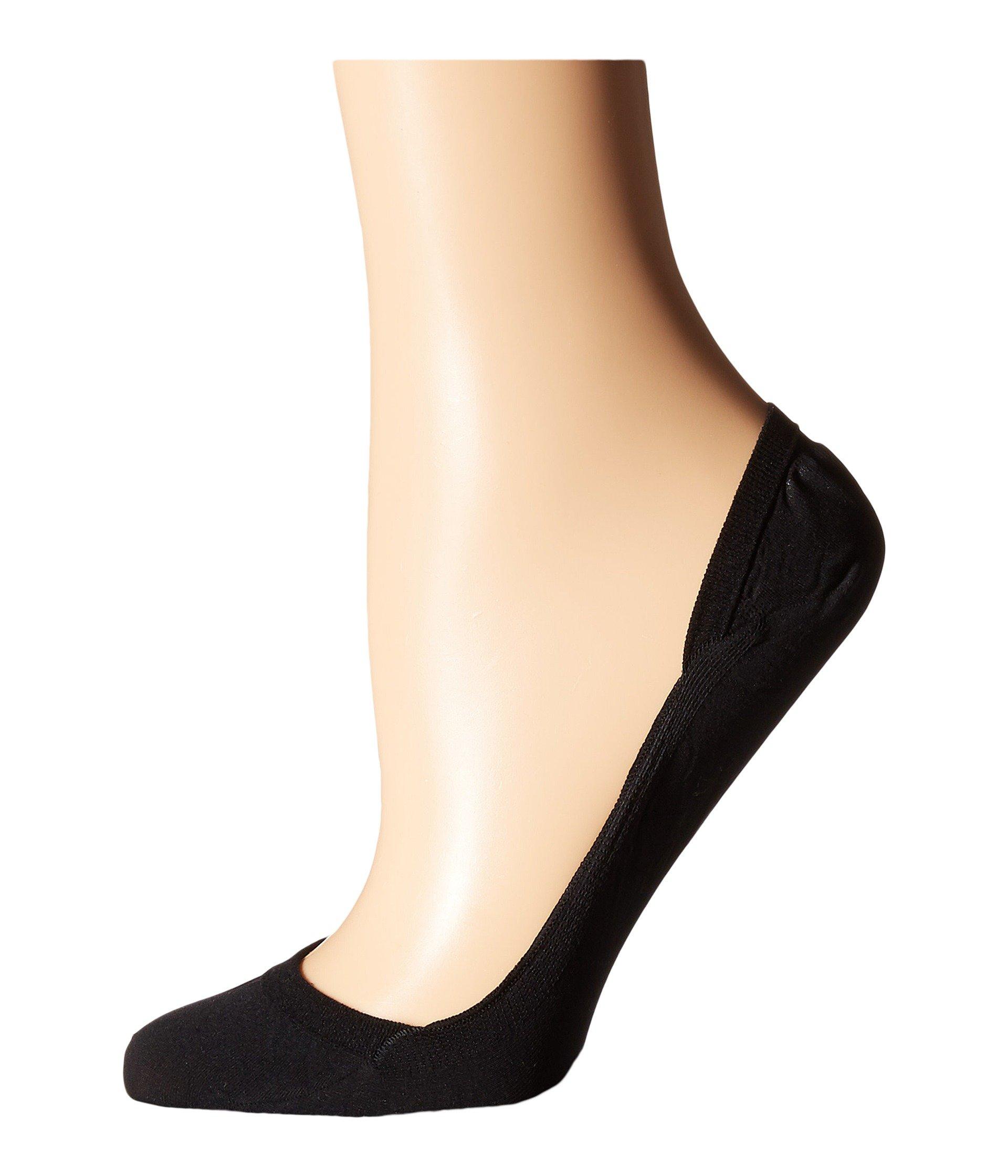 Elegant Step Invisible Socks Black Falke URFqgwg