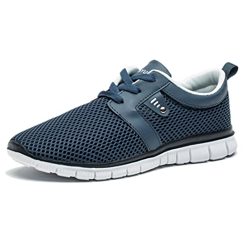 Tianui Walking Shoes Men Women Fashion Breathable Sneakers Casual Athletic  Lightweight Outdoor Sports Shoes b699c924c1a8