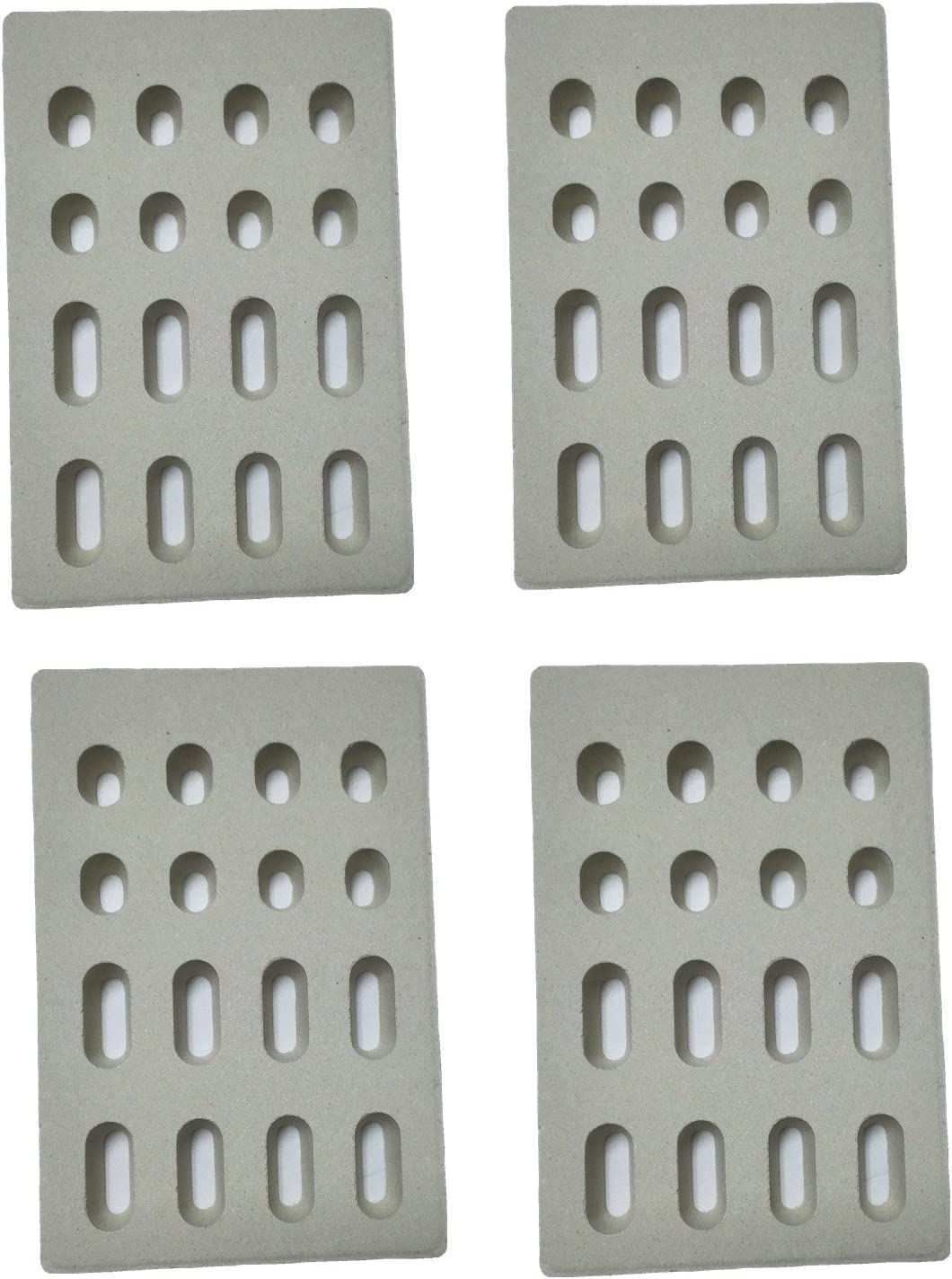 DELSbbq 4-Pack Universal Replacement Heat for Tamer Plate Flame Elegant Limited price sale