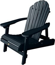 highwood Hamilton Folding and Reclining Adirondack Chair, Adult Size, Federal Blue (AD-CHL1-FBE)