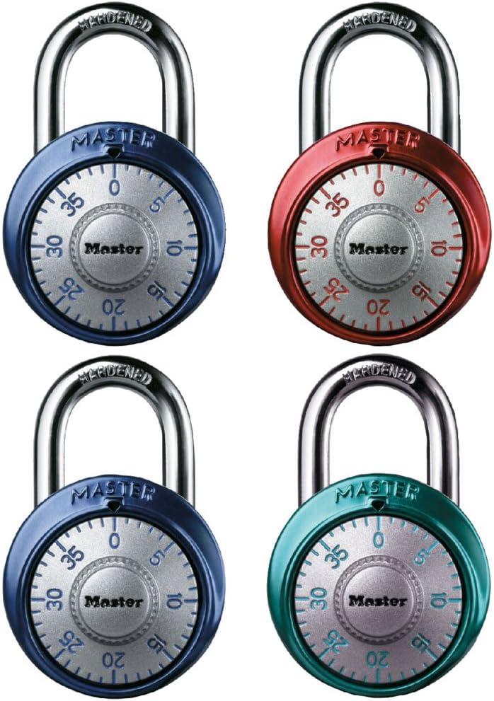 Master Max 42% OFF Lock 1561DAST Combination Dial Max 41% OFF Padlock Assorte 8-In 1-7