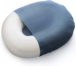 Milliard Foam Donut Pillow Orthopedic Ring Cushion with Removable Cover, Large, 20x15 in. for Hemorrhoid, Coccyx, Sciatic Nerve, Pregnancy and Tailbone Pain, Firm