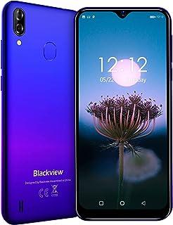 Blackview A60 Proスマートフォン SIMフリー スマートフォン本体 4G スマホ本体 Android9.0 6.08インチ 92%画面占有率 5MP+ 8MP 3GB+16GB 4080mAh 顔認識 技適認証済み 携帯電話 1年間保証付き ゲーム不向き 楽天UN-LIMIT対応不可 ブルー