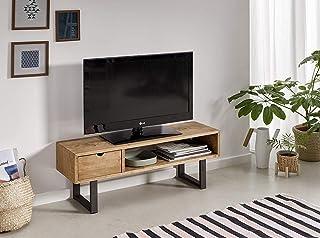 Mesa televisión, Mueble TV salón diseño Industrial-