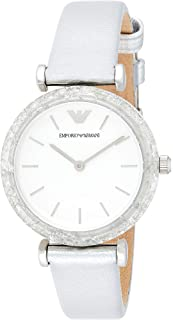 Emporio Armani Women's AR11124 Analog Display Quartz Silver Watch