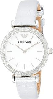 Emporio Armani Women's AR11124 Analog Display Quartz Silver Watch