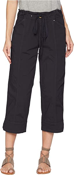 Stretch Broadcloth Safari Capris