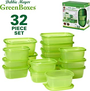 dark green storage boxes