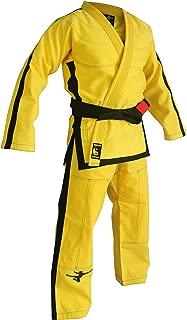 FLUORY Lightweight BJJ Gi,Brazilian Jiu Jitsu Uniform for Men & Women