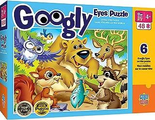 Googly Eyes - Woodland Animals 48pc Puzzle