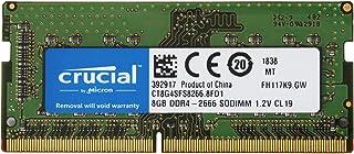 Crucial ノートPC用 メモリ PC4-21300(DDR4-2666) 8GB SODIMM CT8G4SFS8266【永久保証】 [並行輸入品]