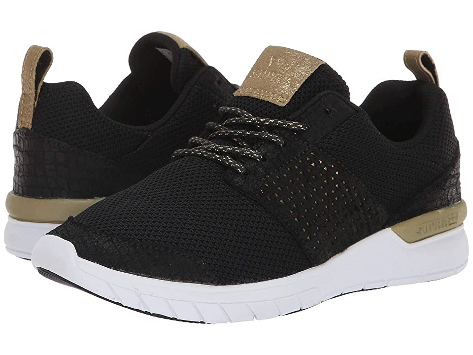 Supra Scissor (Black/Gold/White) Women