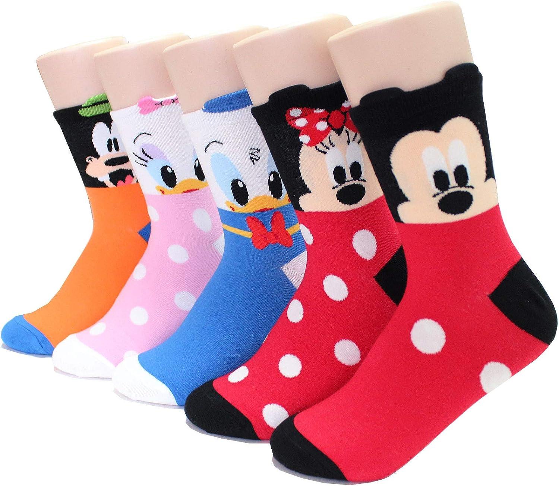 EVEI Animation Character Cartoon Series Collection Women's Original Socks