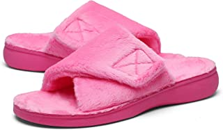 SOLLBEAM Plantar Fasciitis Slippers with Arch Support Orthotic Heel Pain Relax Sandals for Women