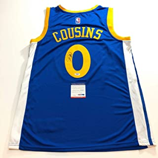 DeMarcus Cousins Autographed Signed Jersey PSA/DNA Golden State Warriors Memorabilia
