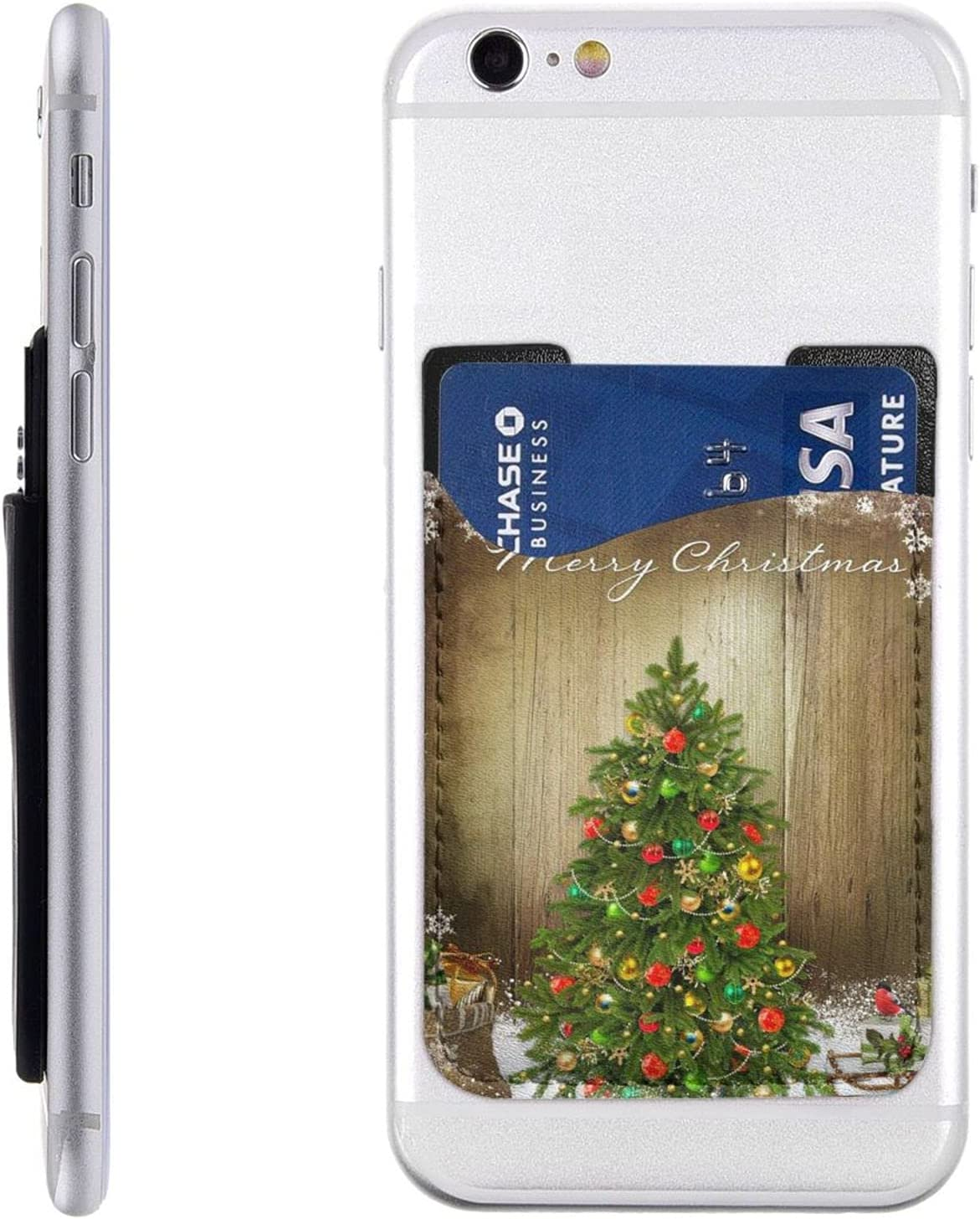 Christmas Tree Max 52% OFF Red Ornaments Phone Max 49% OFF Cell Card Stick Holder