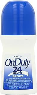 Avon Deodorant Bonus Size Pack of 12 (ON DUTY 24H SPORT)