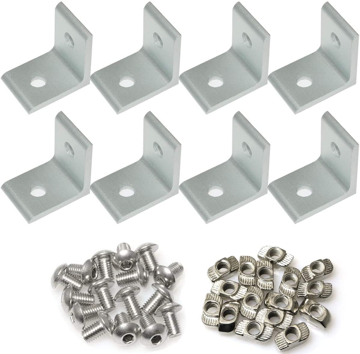 PZRT 8 Sets 2 Hole 90 Degree Corner 35% Bombing free shipping OFF Angle Plate Joint Series 30