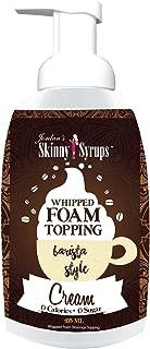Jordan's Skinny Syrups - Cream Whipped Foam Topping