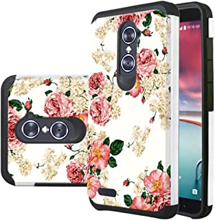 ZTE Grand X Max 2 Case, Zmax Pro Case,Harryshell Shock Absorption Hybrid Dual Layer Armor Defender Protective Case Cover for ZTE Blade X Max Z983 / ZTE Max Duo/Imperial Max Z963U / Kirk Z988 Z981