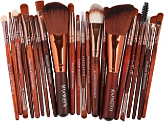 💕 Ourhomer 💕 Clearance Sale MAANGE New 22pcs Cosmetic Makeup Brush Blusher Eye Shadow Brushes Set Kit